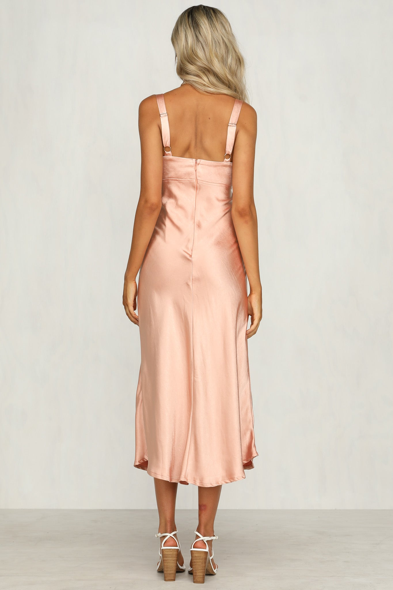 Vaucluse Dress (Peach)