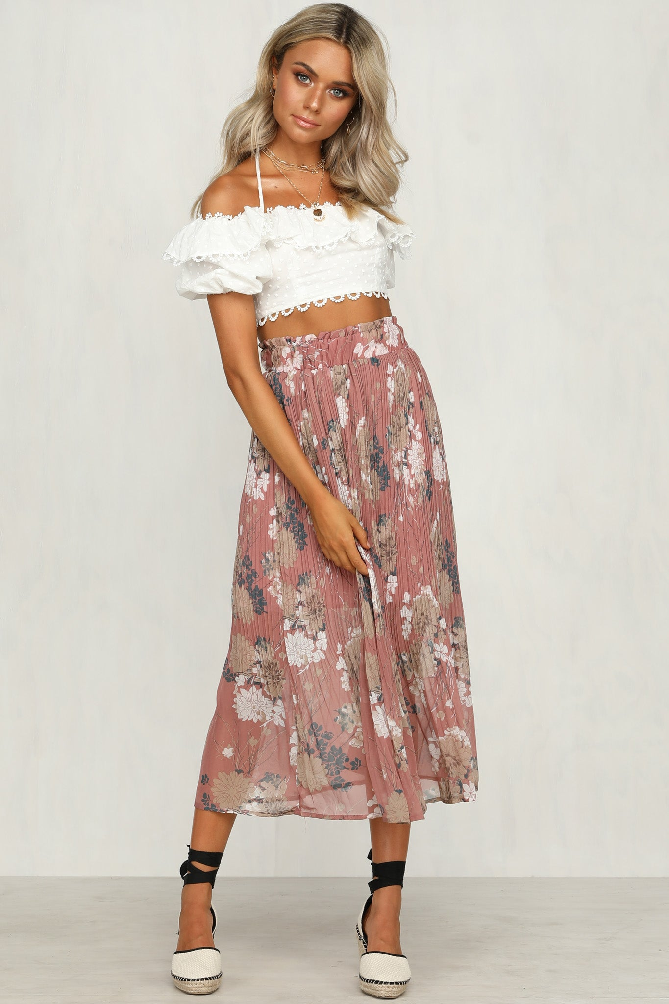 Maybel Skirt (Pink)