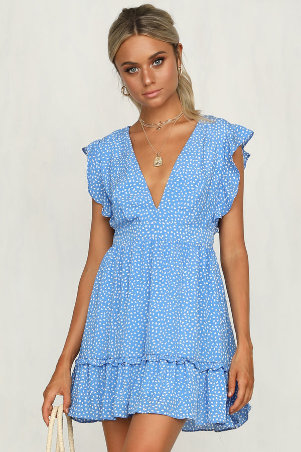 Island Dream Dress (Blue)
