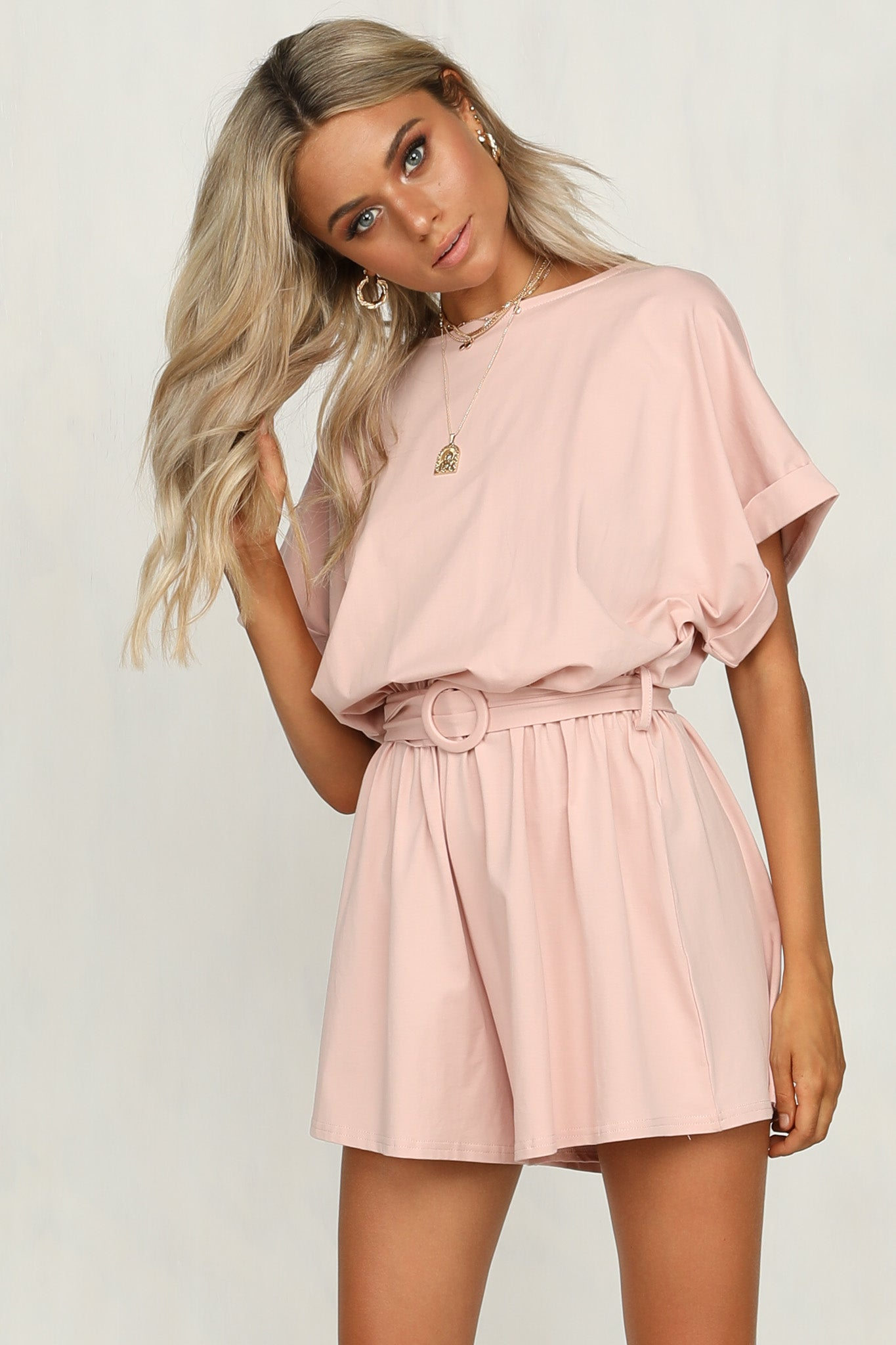 177f2b23741 Lou Playsuit (Pink) – RunwayScout