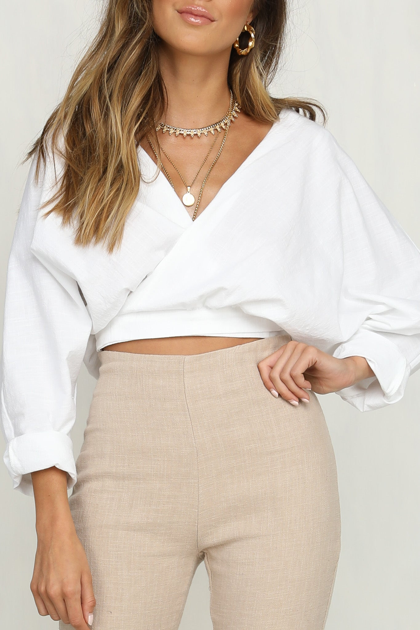 Absolutely Wrapped Top (White)