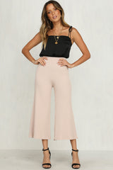 Rory Knit Pants (Blush)