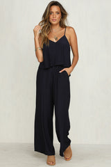 Desert Sands Jumpsuit (Navy)