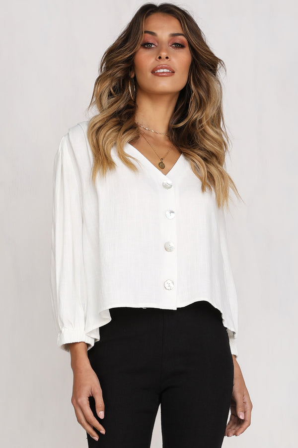 Virginia Top (White)