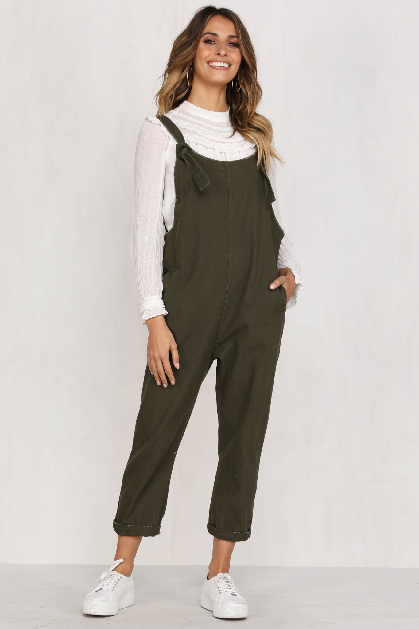 High Flyer Overalls (Khaki)