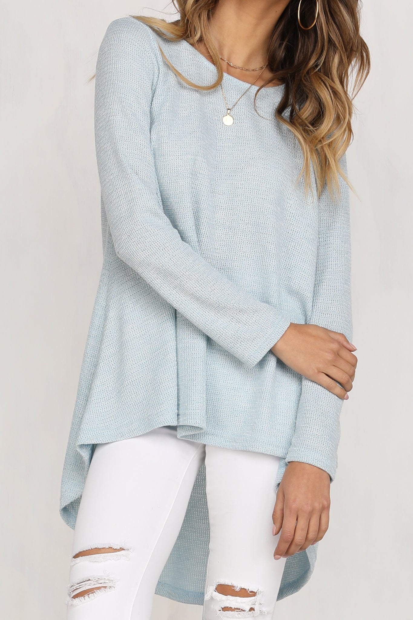 Long Weekend Sweater (Sky Blue)