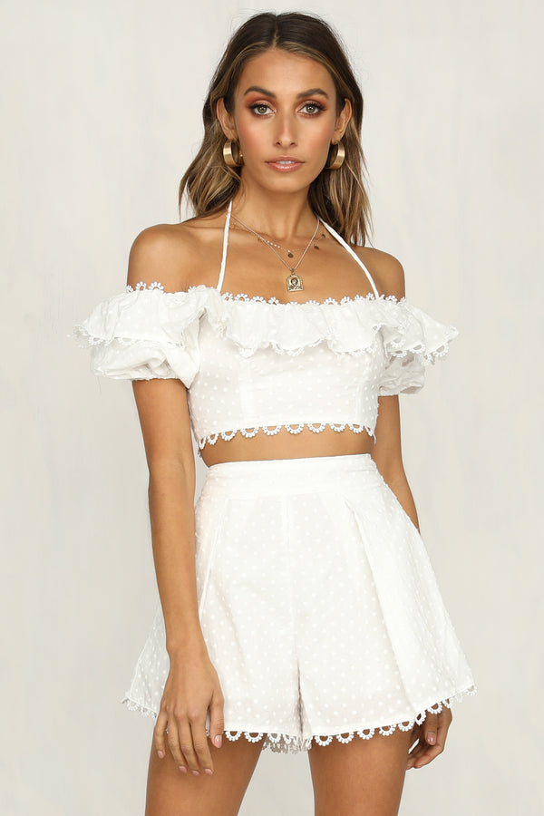 Members Only Top (White)