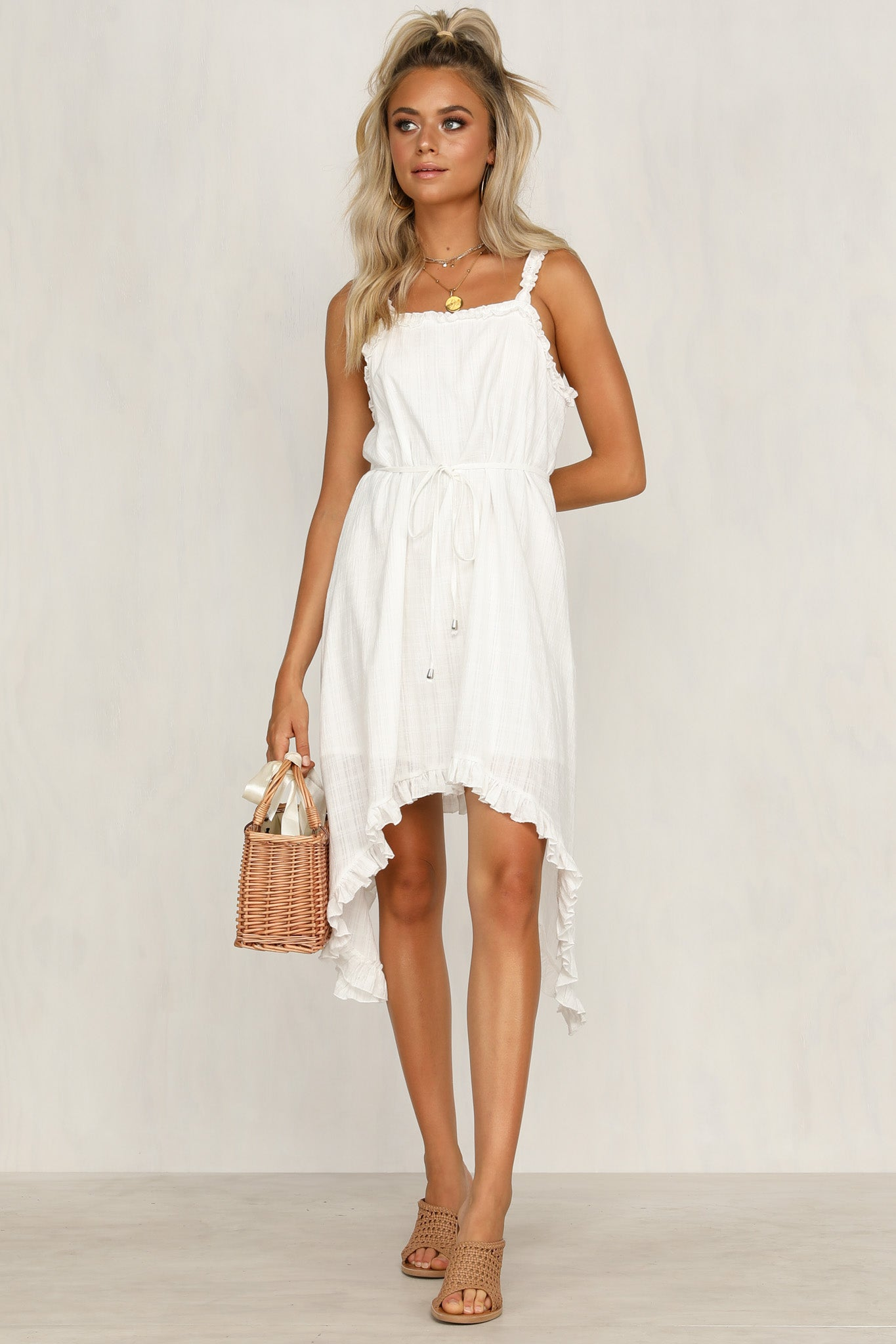 Tamsen Dress (White)