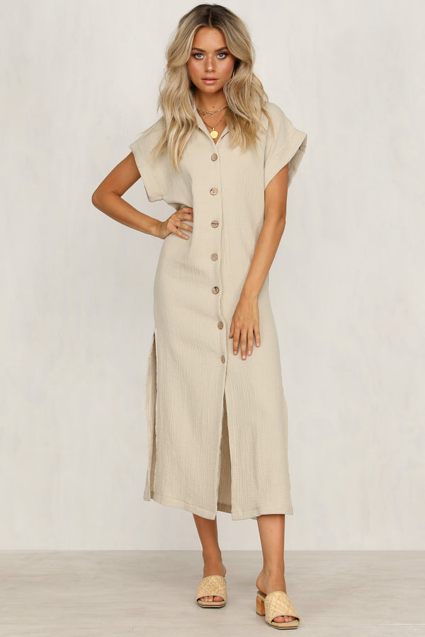 Indiana Dress (Beige)