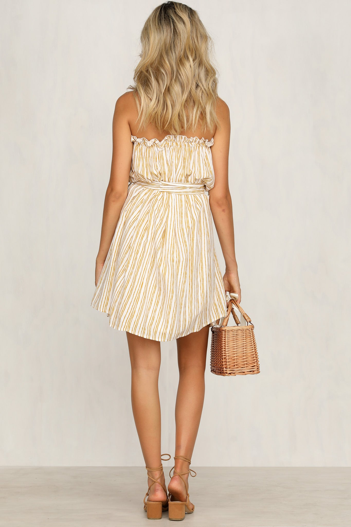 Take My Hand Dress (Stripe)
