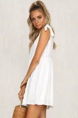 Keleisha Dress (White)