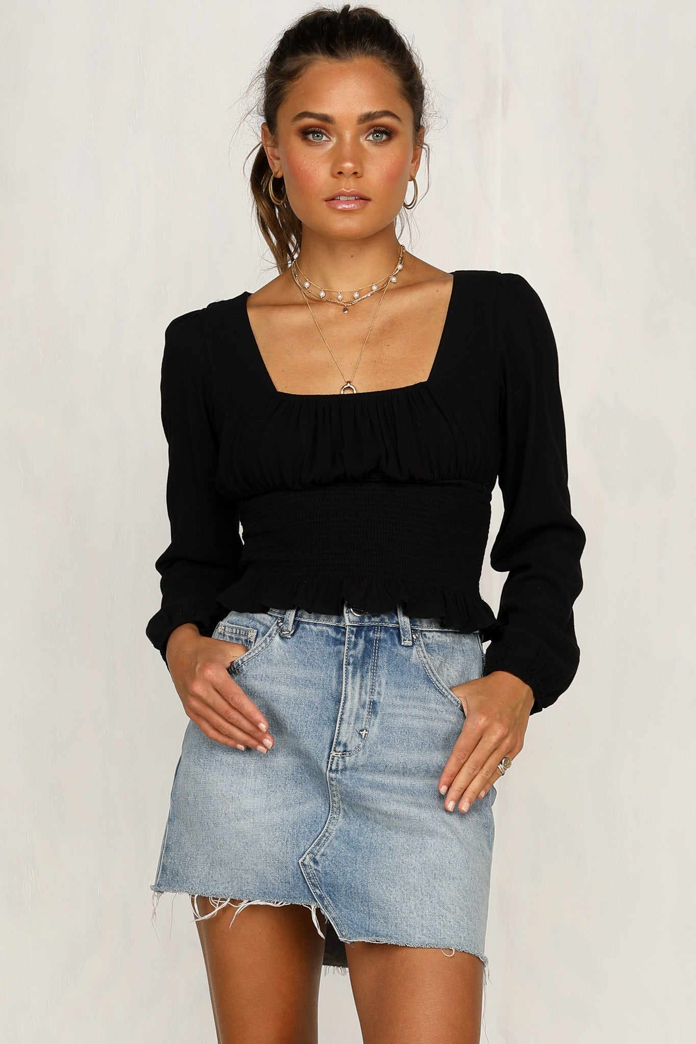 Ami Top (Black)