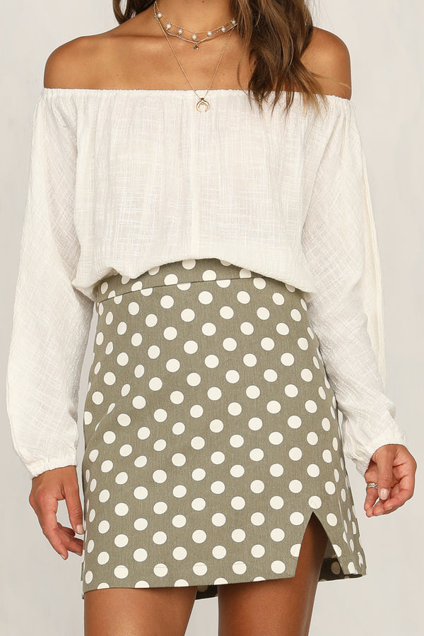 Cruel Intentions Skirt (Khaki)