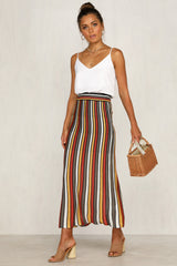 Armelle Skirt (Striped)