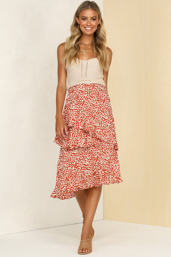 Canyon Skirt (Red)