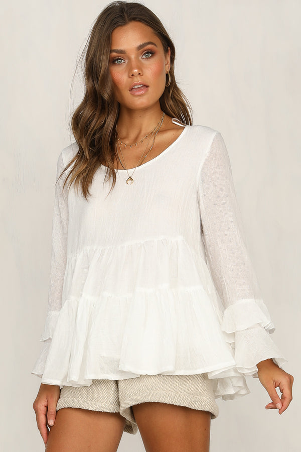 Oliver Top (White)