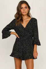 Tallie Playsuit (Black)