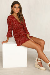 Tallie Playsuit (Wine)