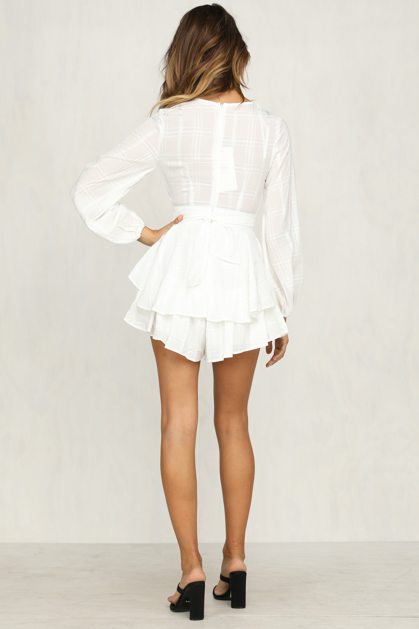 Fireball Playsuit (White)