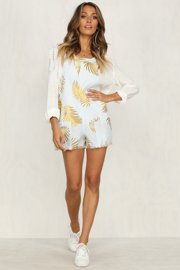 Santorini Sun Playsuit