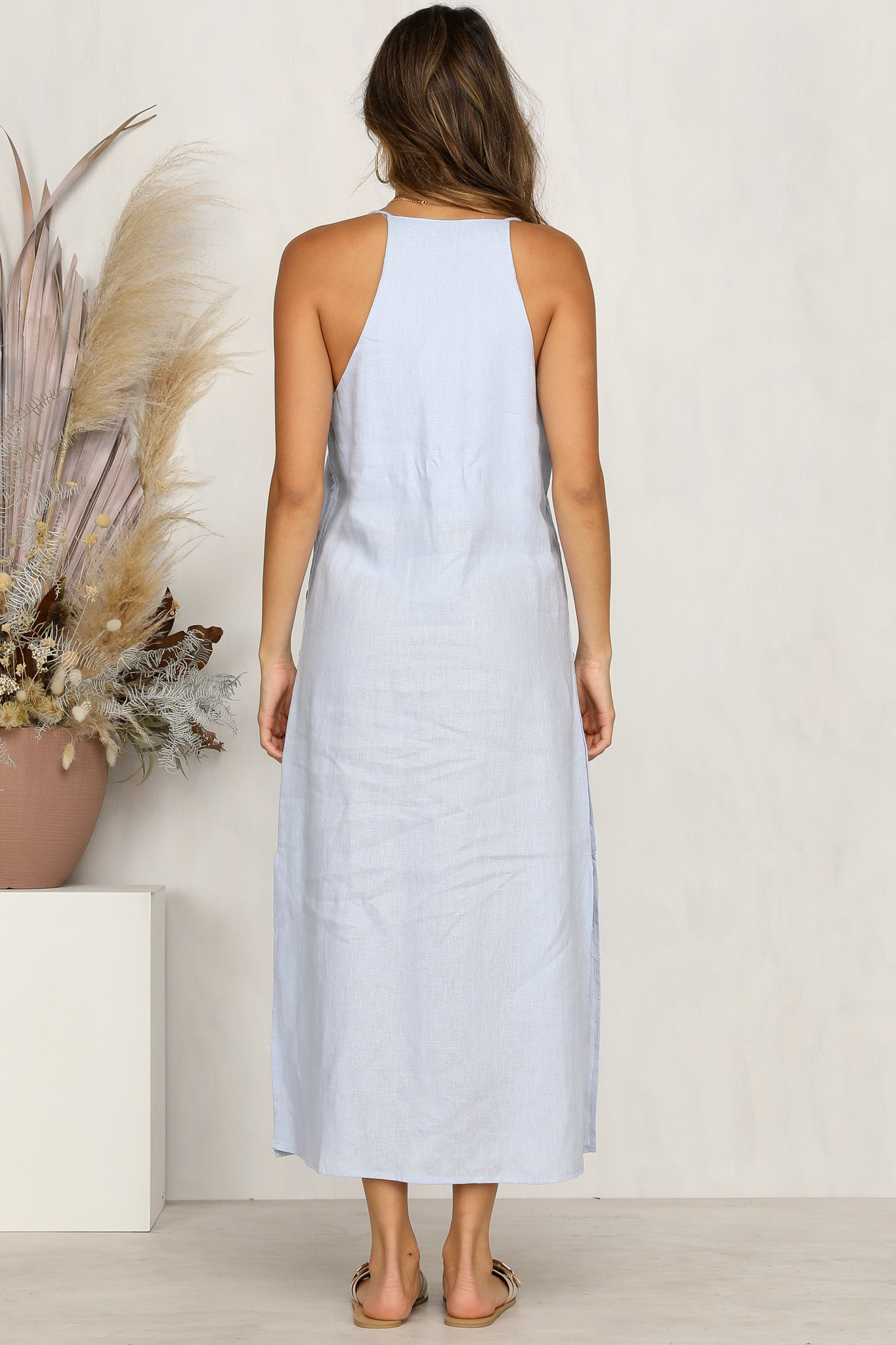 Layley Dress (Blue)