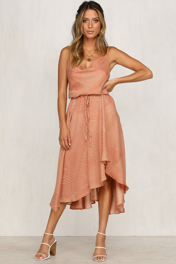 Sandy Steps Maxi Dress