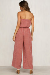 Golden Days Jumpsuit (Rust)