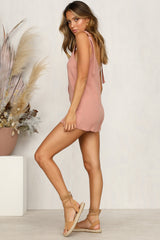 Tip-Toe Playsuit (Blush)