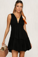 Late Afternoon Dress (Black)