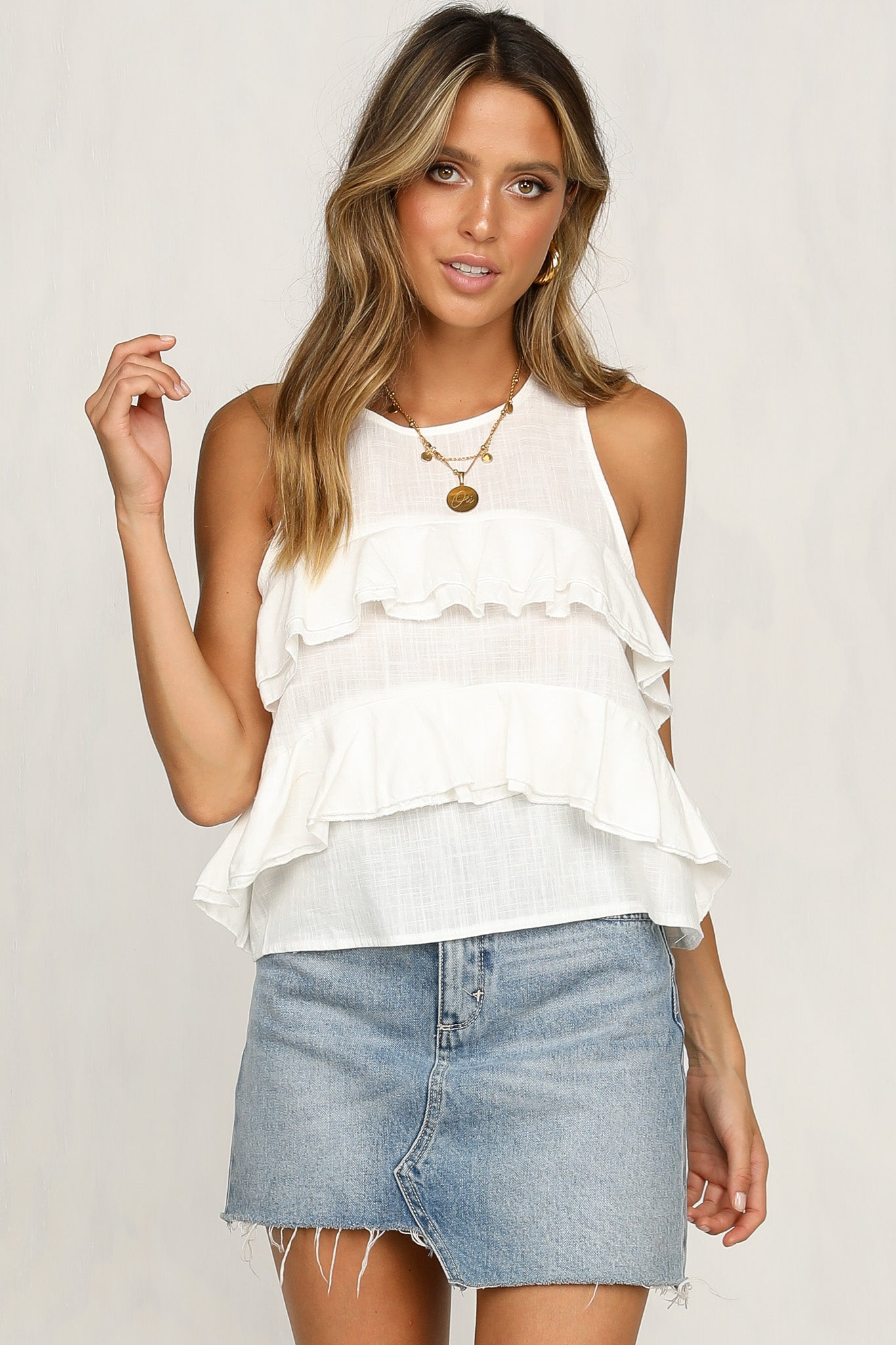 Leave A Trace Top
