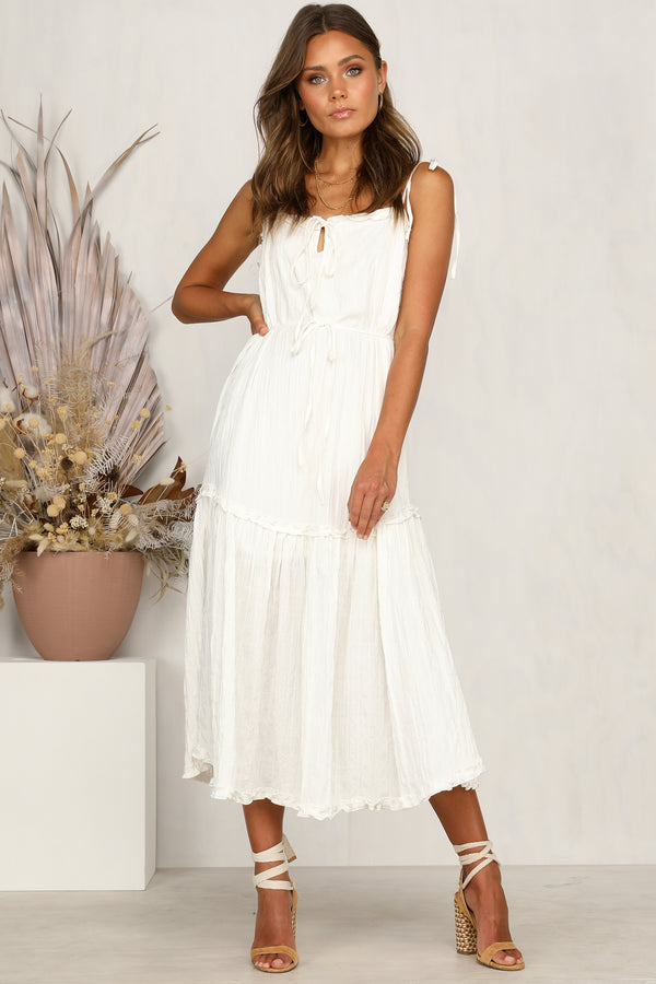Love Language Dress (White)