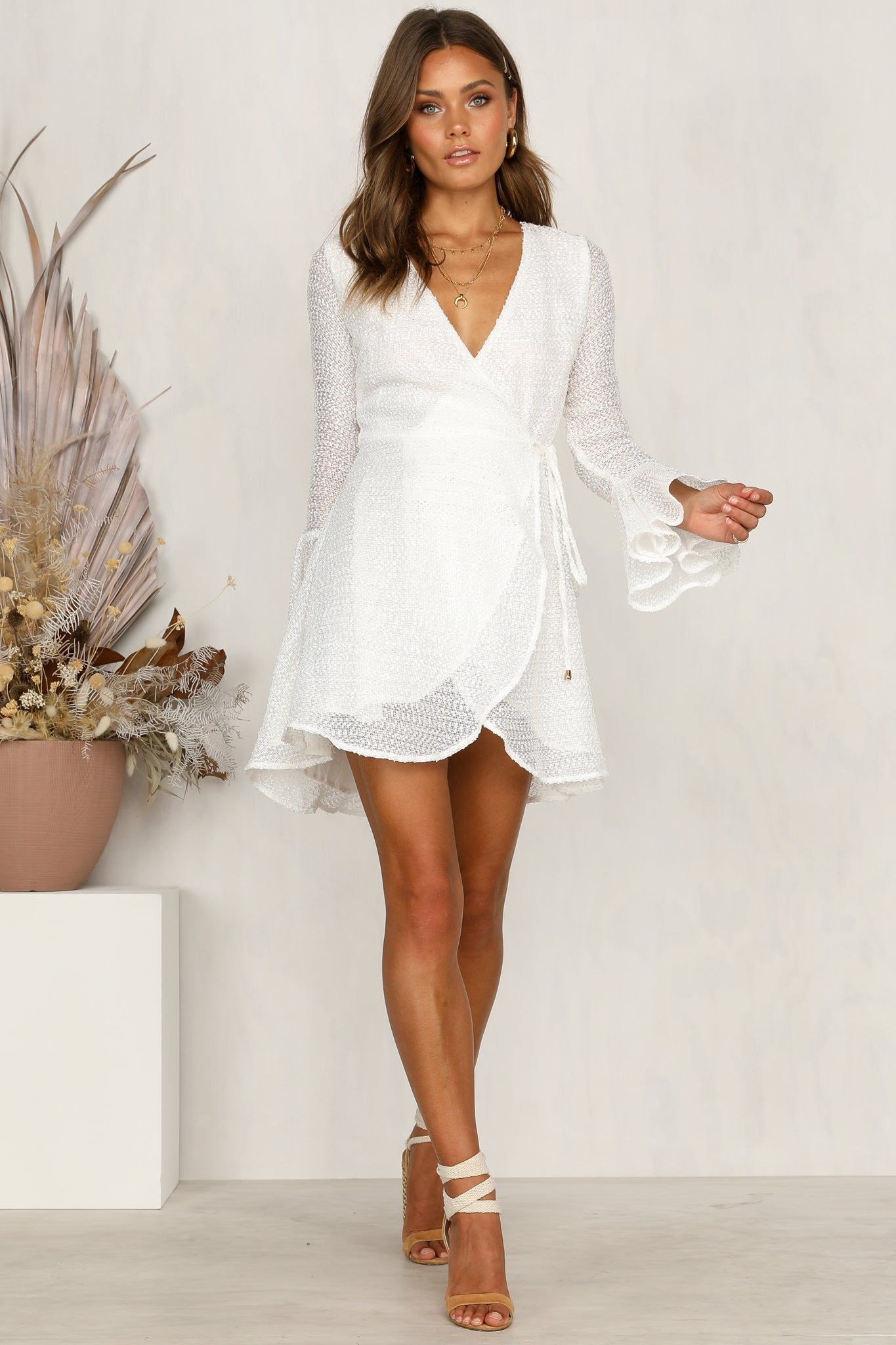 Locklin Dress (White)