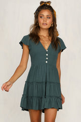 Perfect Score Dress (Forest Green)