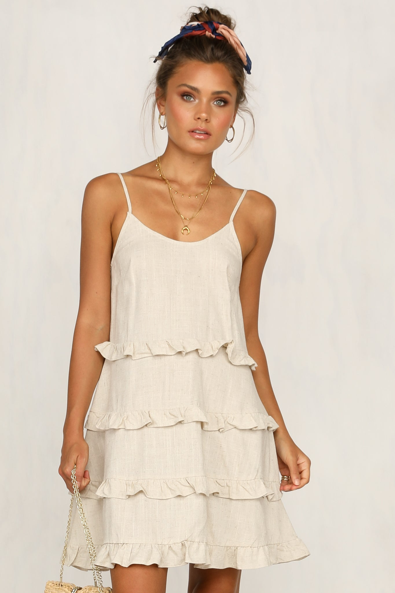 Karla Dress (Beige)