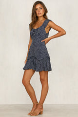 Count On Me Dress (Navy)