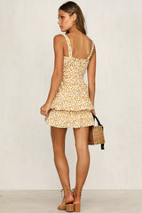 In The Air Dress (Mustard)