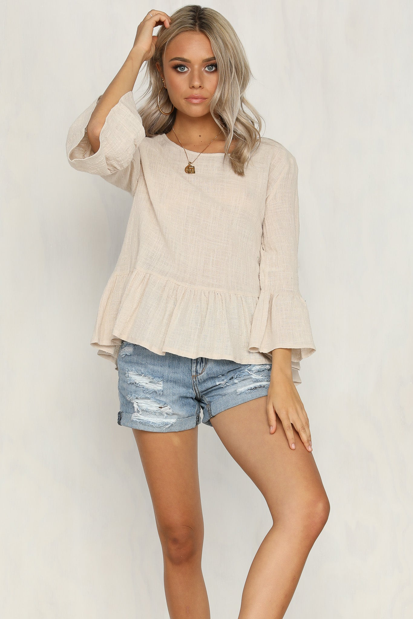 Have It All Top (Beige)