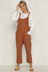 High Flyer Overalls (Rust)