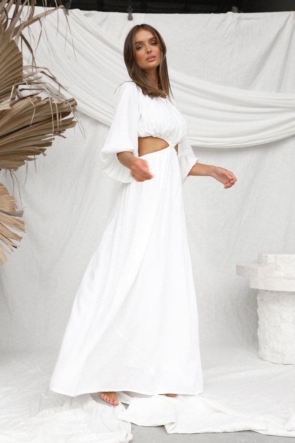 Coastal Dress (White)