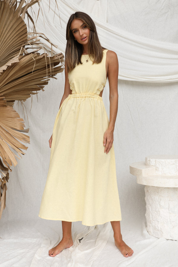 Harper Dress (Lemon)