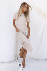 Matilda Dress (Sand)