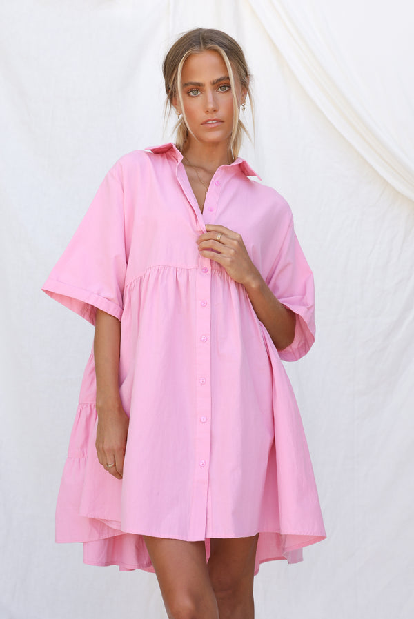Ashley Dress (Pink)