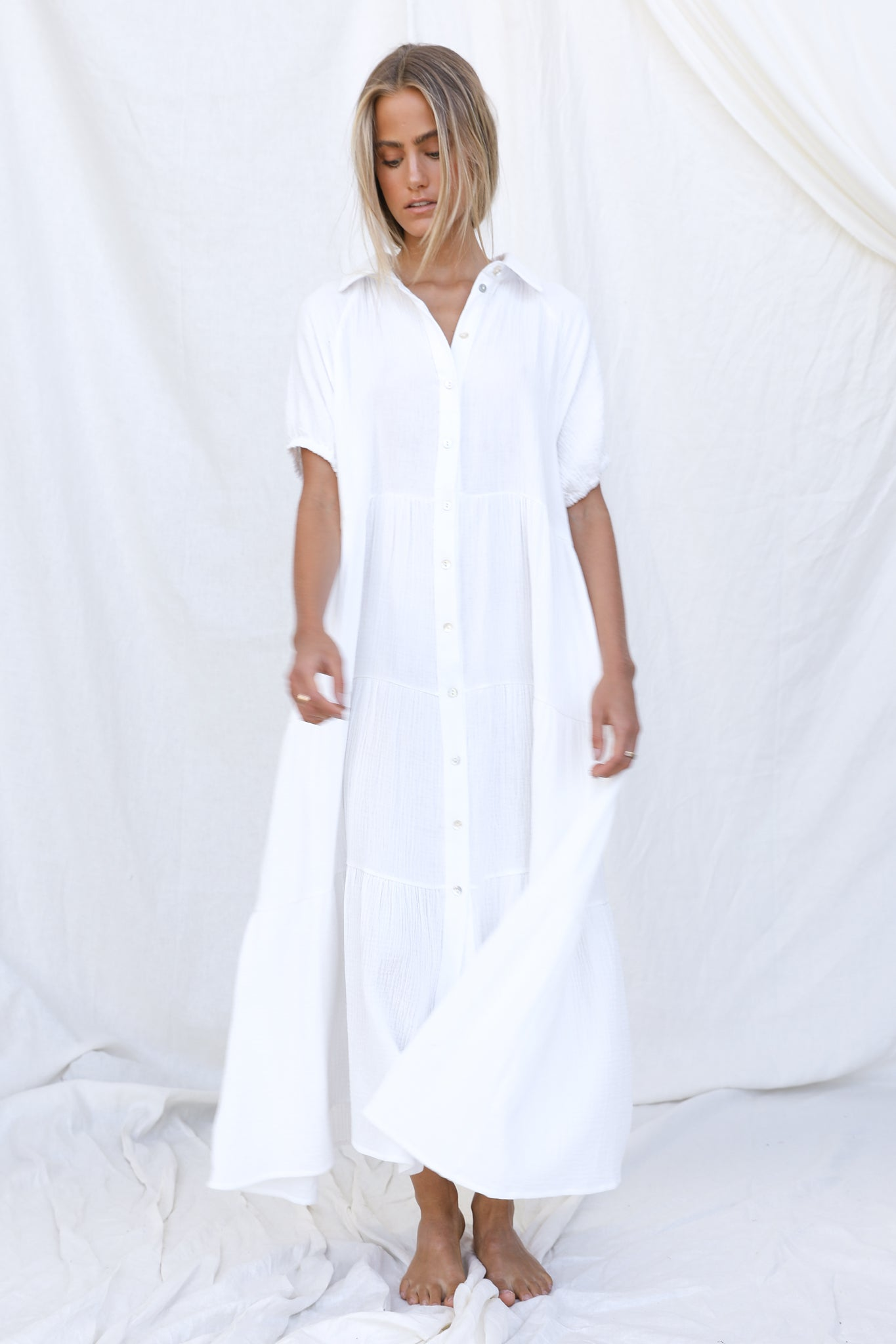 Jonah Dress (White)