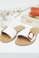 Casablanca Slides (White)