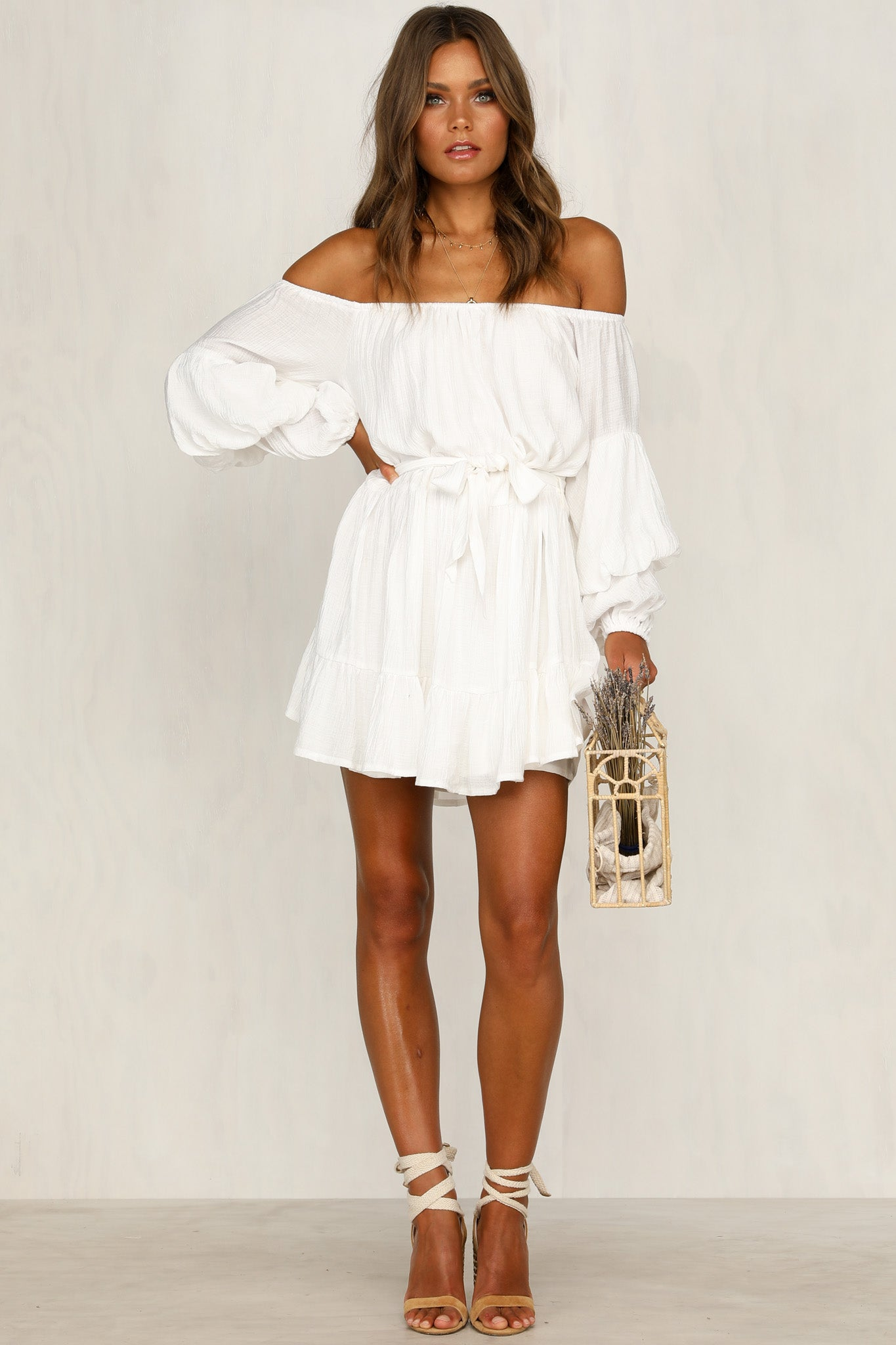 Like Sugar Dress (White)