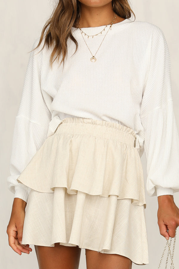 Short and Sweet Skirt (Natural)