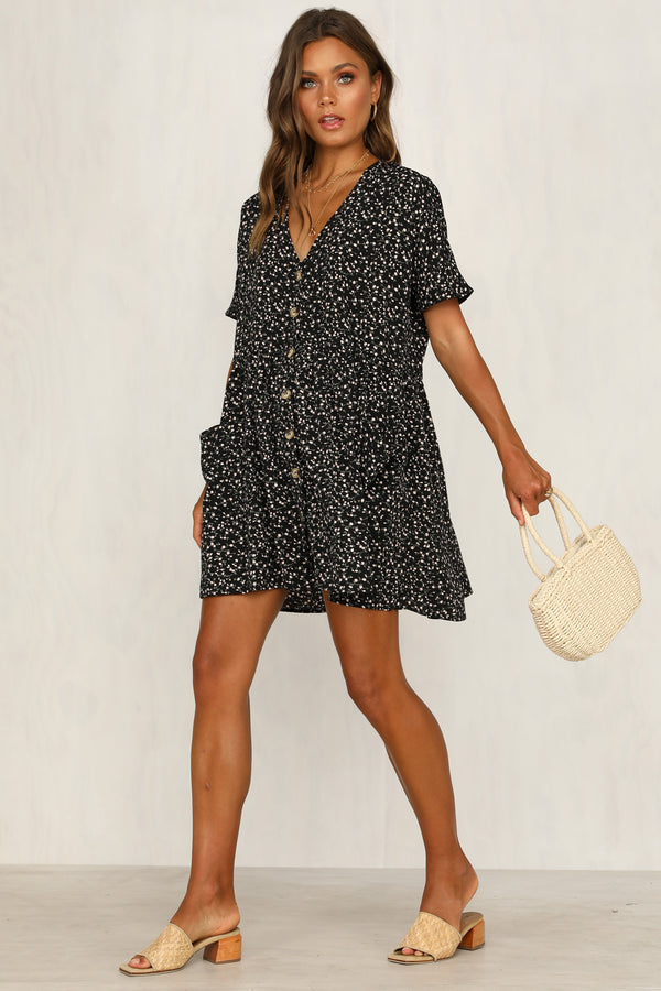 Perfect Morning Dress (Black)