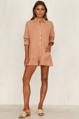 Memphis Playsuit (Rust)