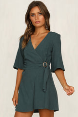 Let Go Dress (Green)