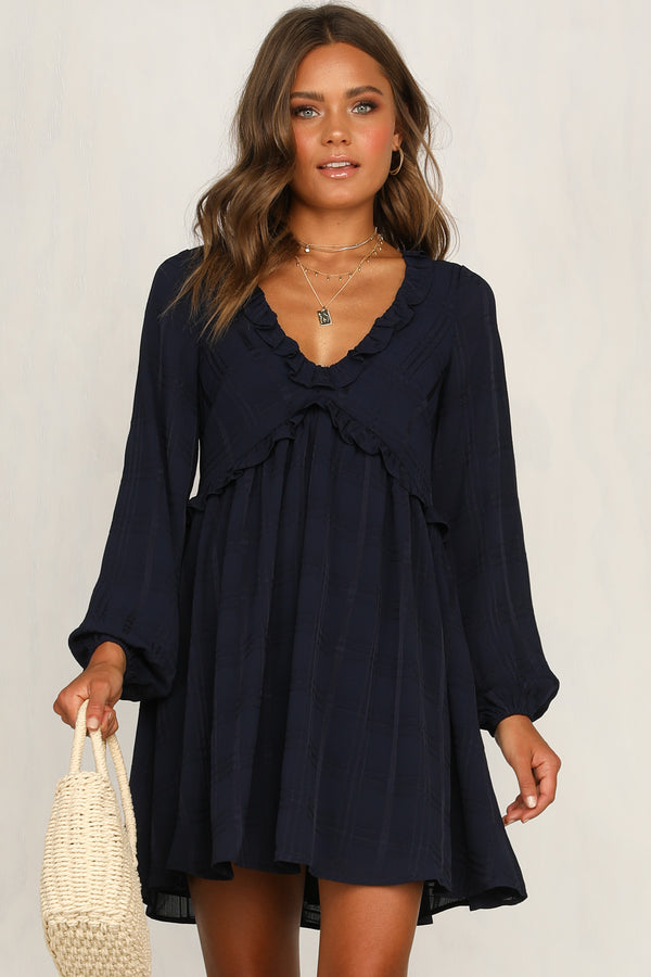 Sweeter Side Dress (Navy)
